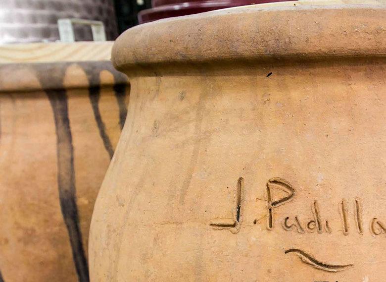Tinajas de barro para elaborar vino