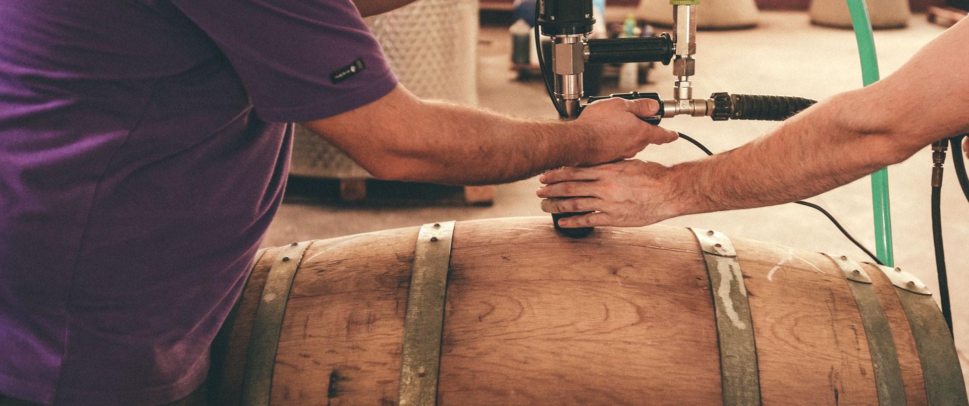 Elaboración de vinos de Bodegas Gratias