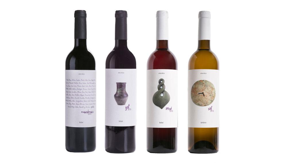 Nuestros vinos …gratias