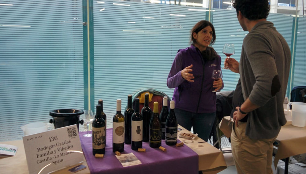 Bodegas Gratias en RAW Wine Fair London 2019